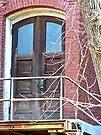 Old Door at the Arcadia Academy  by Susan S. Kline