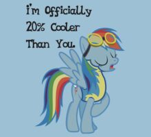 Rainbow Dash - Twenty Percent Cooler T-Shirt