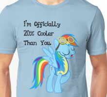 Rainbow Dash - Twenty Percent Cooler Unisex T-Shirt