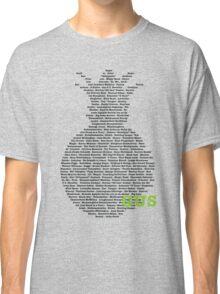 Gus's Nicknames 2 (Psych) Classic T-Shirt