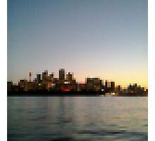 Sydney City Pixels Photographic Print