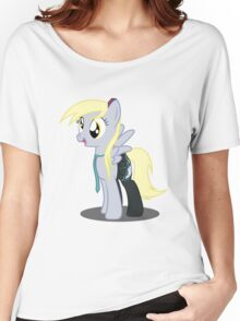 Derpy Hooves - Hatsune Miku Cosplay Women's Relaxed Fit T-Shirt