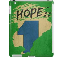 Hope!! (time machine) iPad Case/Skin