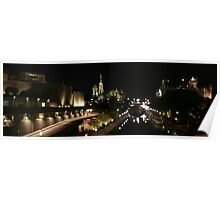 Rideau Canal Reflections with the Ottawa Skyline Part 2 Poster