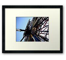 Disneyland Ferris Wheel Framed Print