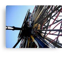 Disneyland Ferris Wheel Metal Print
