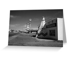 Route 66 - Tucumcari, New Mexico Greeting Card