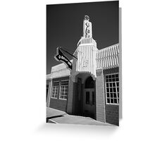 Route 66 Cafe Greeting Card