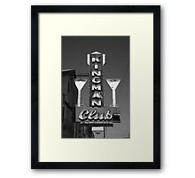 Route 66 - Kingman Club Framed Print