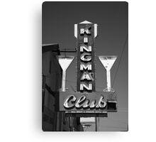Route 66 - Kingman Club Canvas Print