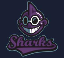 Onett Sharks One Piece - Long Sleeve