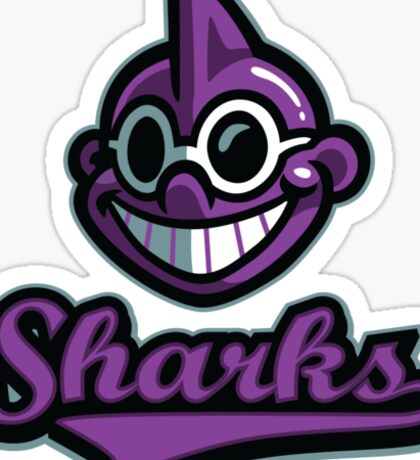 Onett Sharks Sticker