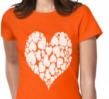 A Heart Full Of Love Red Valentine Hearts Within A Heart Womens Fitted T-Shirt