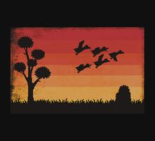Duck Hunting Kids Tee