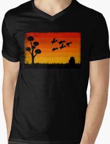 Duck Hunting Mens V-Neck T-Shirt