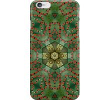 Coralillo Snake and pigeon nest iPhone Case/Skin