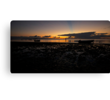Golfo Dulce Sunrise Canvas Print