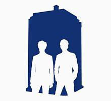 Two Doctors. One Tardis.  Unisex T-Shirt