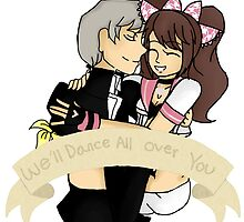 Persona 4 - We'll Dance All Over You by MinawaKitten