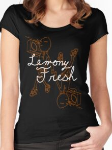 Lemony Fresh Women's Fitted Scoop T-Shirt