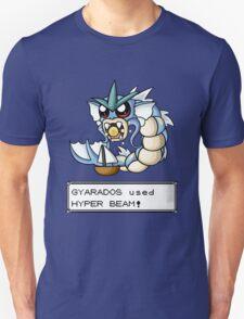 Gyarados used Hyper Beam! Unisex T-Shirt