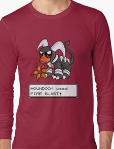 Houndoom used Fire Blast! Long Sleeve T-Shirt