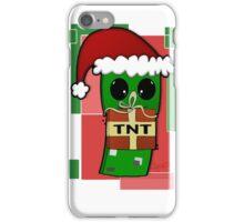 Minecraft Christmas Creeper  iPhone Case/Skin