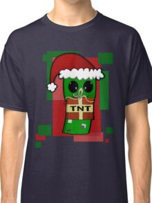 Minecraft Christmas Creeper  Classic T-Shirt