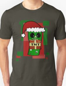 Minecraft Christmas Creeper  T-Shirt