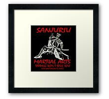 """ISA Martial Arts"" by Carter L. Shepard Framed Print"