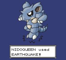 Nidoqueen used Earthquake! by redpawdesigns