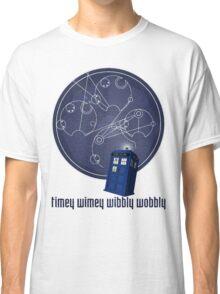 timey wimey wibbly wobbly Classic T-Shirt