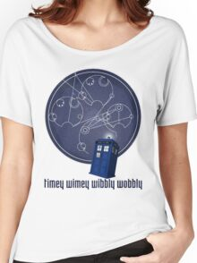 timey wimey wibbly wobbly Women's Relaxed Fit T-Shirt