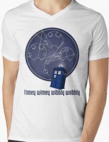timey wimey wibbly wobbly Mens V-Neck T-Shirt