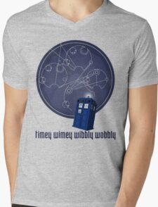 timey wimey wibbly wobbly Mens V-Neck T-Shirt