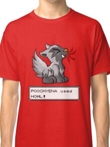Poochyena used Howl! Classic T-Shirt