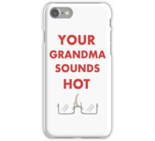 Your Grandma Sounds Hot- Alfred Jones iPhone Case/Skin