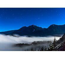 Full Moon Night Skies Photographic Print