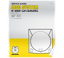 Service Games Disc System Poster