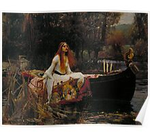 John William Waterhouse - The Lady of Shalott Poster