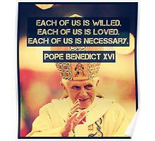 Pope Benedict Poster