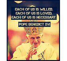 Pope Benedict Photographic Print