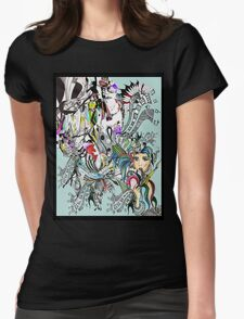 art of lust  Womens Fitted T-Shirt