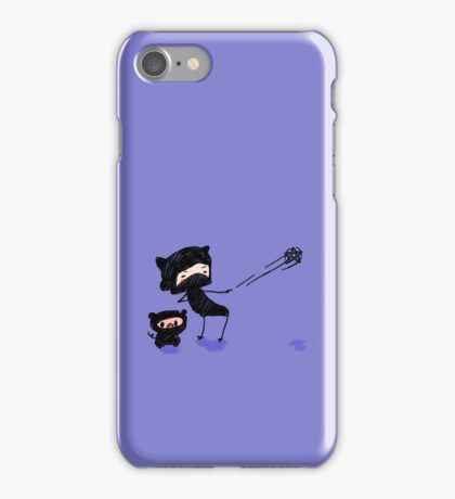 Rudy and Sir Pigsalot Ninjas iPhone Case/Skin