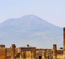 Mt. Vesuvius: Pompeii, Italy by thewaxmuseum