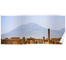 Mt. Vesuvius: Pompeii, Italy Poster