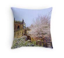 Bradfield Church Throw Pillow