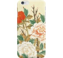 Peonies flower iPhone Case/Skin