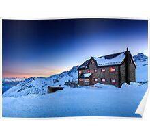 Duisburger Hütte 2572 m Poster