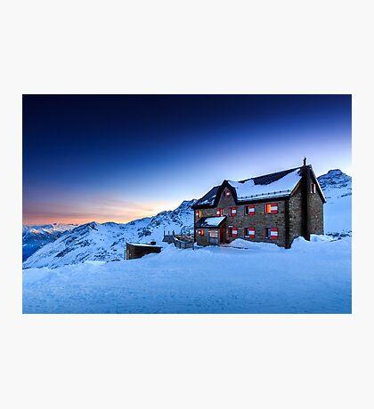 Duisburger Hütte 2572 m Photographic Print